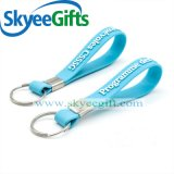 Nuevo PVC modificado para requisitos particulares Keychain del diseño para el regalo