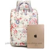 A lona floral retro da trouxa ensaca o saco impermeável Yf-Lb1698 do portátil dos ombros da trouxa do saco elegante