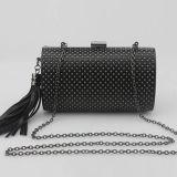 L'usager neuf de femmes de sac d'embrayage de soirée de sac à main de rivet de mode met en sac Eb696
