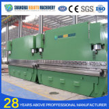presse plieuse hydraulique W67y-160/3200, CE et l'ISO
