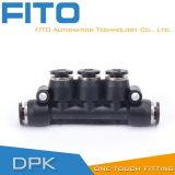 Cilindro pneumatico, elettrovalvola a solenoide, montaggio pneumatico