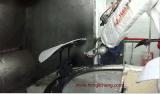 Завершите линию покрытия робота UV трудную для бамперов автомобиля