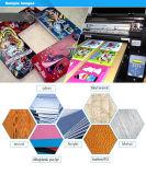 A3 LED 사진 기계 싼 가격을 인쇄하는 UV 평상형 트레일러 인쇄 기계 직물