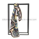 La mode 2017 conçoivent Madame en fonction du client Silk Scarf