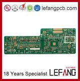 Fr4 recto-verso carte de circuit imprimé PCB pour la transmission du signal