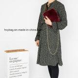 2017 Stylish Plush Womens Chain Shoulder Handbags Leisure Ladies sac à main Hcy-5536
