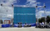Slim 640*640 mm Die-Casting P10mm LED paneles al aire libre para el exterior de coches