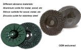 Silicon Carbide Plastic Backing Disc Grinding Wheel