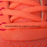 De Tennisschoenen die van kleurrijke Vrouwen Atletische Schoenen met Pu Outsole in werking stellen