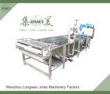 Máquina de esterilização e branqueamento de vegetais e frutas com alto rendimento