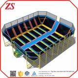 Gran trampolín comercial gimnasio multifuncional personalizado para la venta