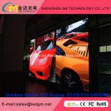 Pantalla LED de exterior de 640 mm*640 mm de P8mm HD LED de alquiler para la etapa