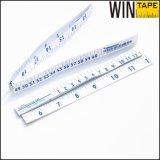 Righello di misurazione di carta medico stampabile a gettare di vendita caldo del nastro (PT-012)