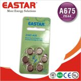Батарея клетки кнопки батареи воздуха цинка продукта A312/A675/A10/A13 OEM Китая