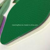 sporten die van pvc van 5mm de Bwf Goedgekeurde voor het Patroon van het Zand van het Hof van het Badminton vloeren