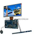 16:9 da entrada de HDMI módulo do VGA de 8 polegadas