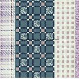 le grate Pigment&Disperse di multiplo 100%Polyester hanno stampato il tessuto per l'insieme dell'assestamento