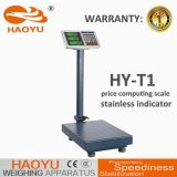 Máquina de pesaje industrial electrónica con indicador de acero inoxidable 150kg.