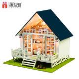 Nuevos niños DIY de casas de muñecas de madera de niños