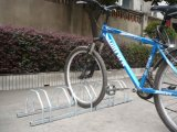 Porta-bicicletas montado no chão com-anti corrosão