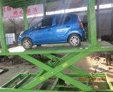 Lift van het Parkeren van de Auto van de Schaar van Inground de Dubbele met Ce