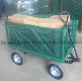 Tc1846 передвижной тележке прицепа в саду, корзина инструментов