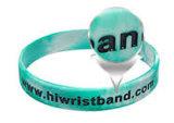 Kundenspezifische Wristbands und Armband mit Firmenzeichen