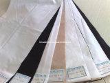 "Poliéster espiga 150dx45 110x76 58/59 ""Blanco / teñido de la tela (HFHB)"