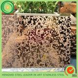 Il colore molto richiesto di PVD ha inciso il piatto dell'acciaio inossidabile per i grossisti
