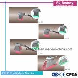 4 asas Cryolipolysis Coolsculpting cuerpo de la máquina de adelgazamiento