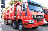 Sinotruk HOWO 8X4 371HP Bergbau-Kipper-Lastkraftwagen mit Kippvorrichtung 2017