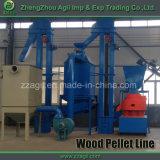 Terminar a linha de madeira linha da máquina da pelota da biomassa da serragem 1t/H de produção da pelota da serragem