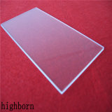 Faible expansion thermique Jgs1 disque en verre de quartz transparent