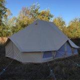 鐘テント6X4m Glampingの綿のキャンバス皇帝のテント