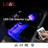 Светодиодный индикатор автомобиля со сменой цветов RGB LED Bateen освещение для интерьера