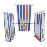 Bolso del alimento del papel de Kraft que empaqueta Niza las bolsas de papel de las palomitas del diseño con la impresión modificada para requisitos particulares