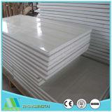 Espuma de aislamiento térmico de panel sándwich de poliestireno para el hogar/edificio prefabricados