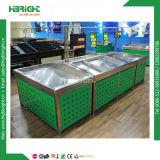 Стойка индикации овоща и плодоовощ супермаркета