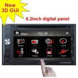 Leitor de DVD In-Dash Hymav-Car (HID6217BT)