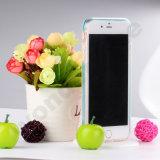 Het vrolijke Geval van de Telefoon van de Flits van de Bliksem van Kerstmis Mobiele voor de Rand van Samsung S6 plus