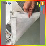 ハングする屋外PVCビニールの網の塀旗を広告する
