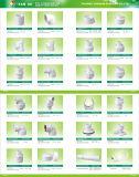 T de diminuição fêmea rosqueado PVC do PVC dos encaixes dos encaixes de BSPT