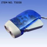 LED torche Dynamo Lampe de poche & (T5058)