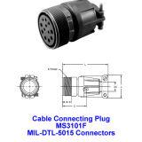 Mme 3101F, câble de raccordement du bouchon, connecteurs militaires, connecteurs industriels Mil-Dtl-5015 Mil-C-5015