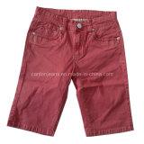 Os homens de moda de alta qualidade calças calções de algodão (CFJ004)