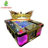 A arcada do divertimento faz à máquina a máquina de entalhe do jogo da arcada do caçador da pesca do empurrador da moeda