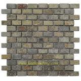 モザイクスレート及び壁石及びモザイク及びパターン石及び設計石