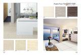Cor de ouro para o chão de azulejos do piso de porcelana decorativos de lado a lado