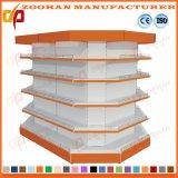 Prateleiras resistentes personalizadas Manufactured do supermercado de aço (Zhs223)