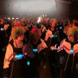 Camiseta del EL LED del flash de la danza del partido del concierto
